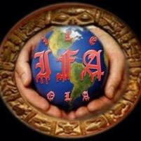 El logo de la casa de ifá